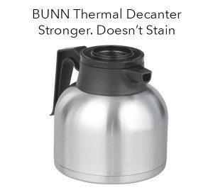 bunn thermal decanter
