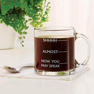 coffee mug with phrase pun