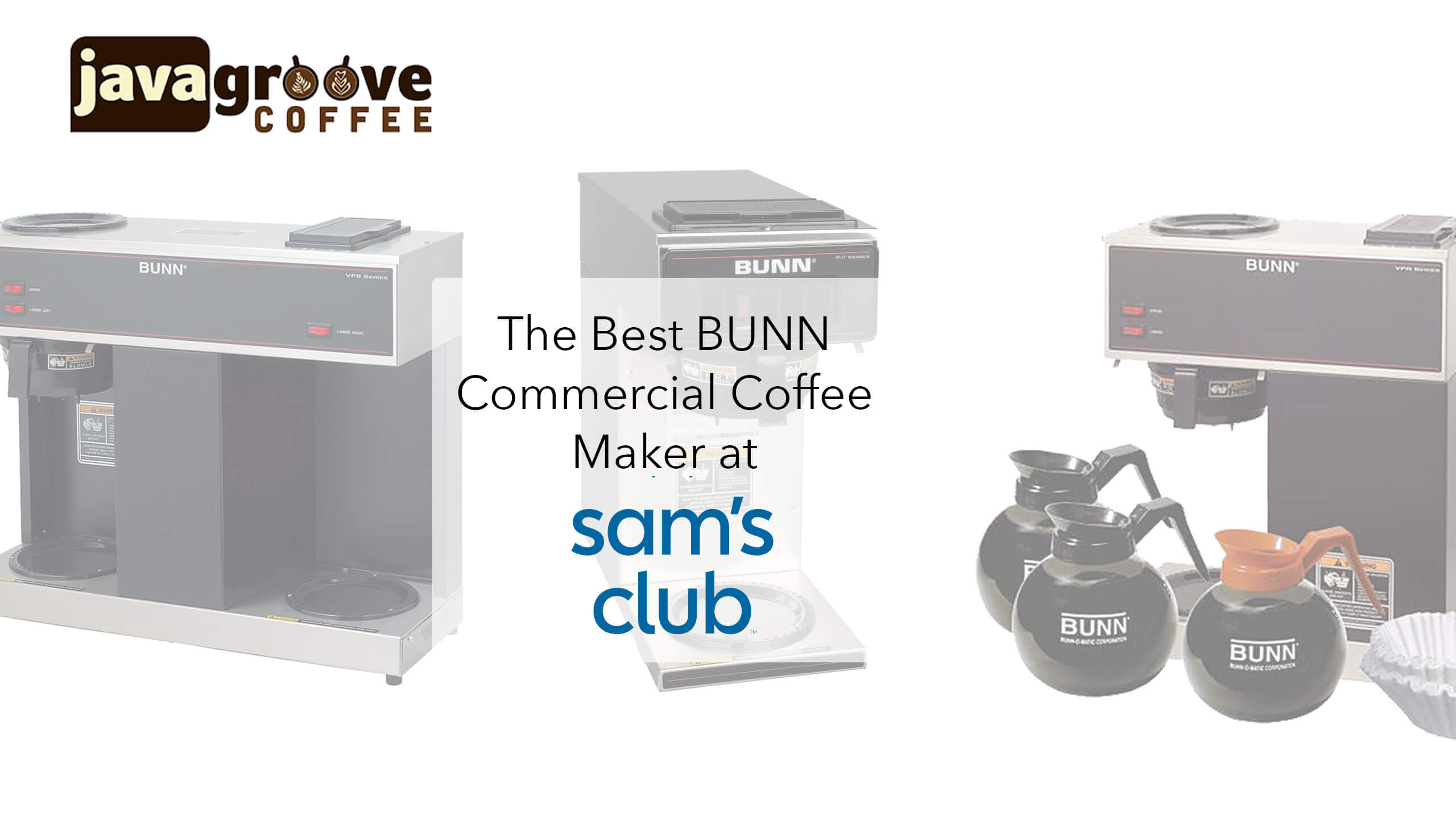 commercial coffee maker BUNN sams club