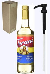 torani french vanilla with pump