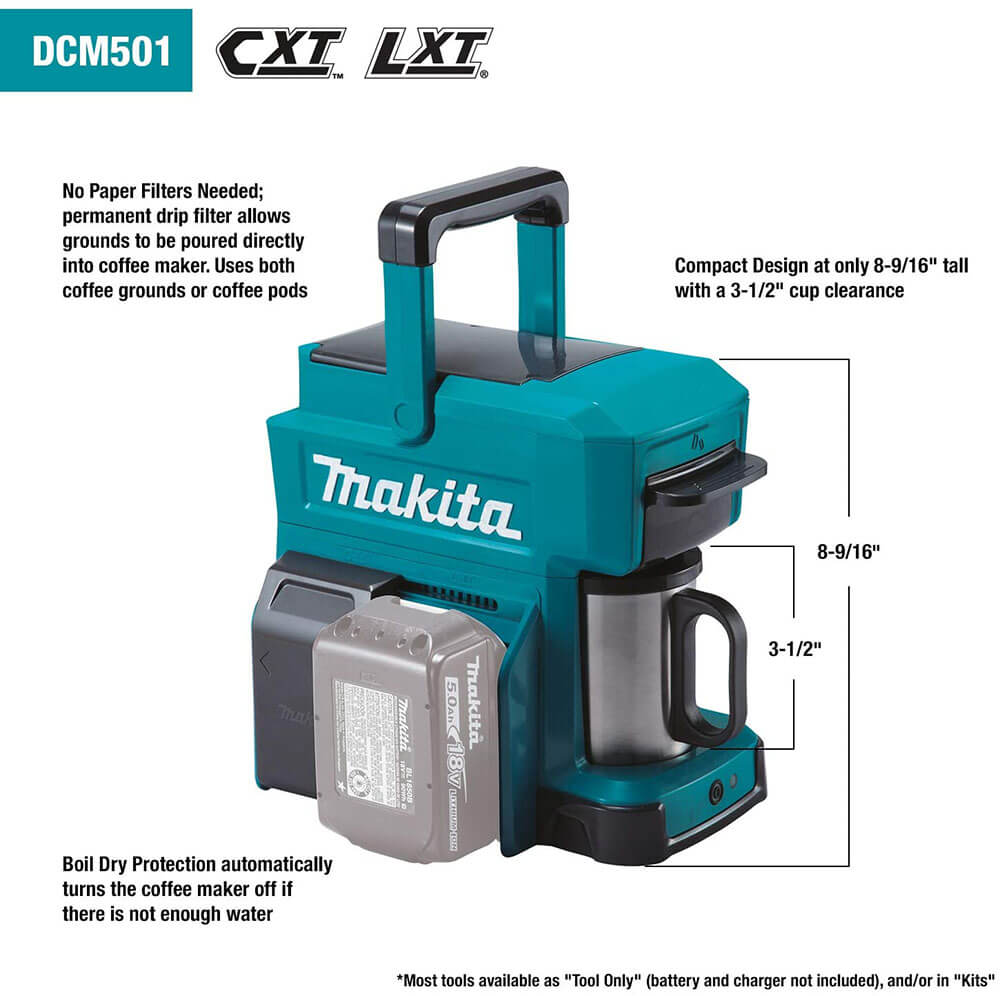 makita portable coffee maker