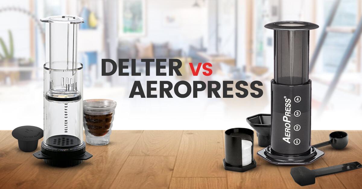 delter press vs aeropress review comparison