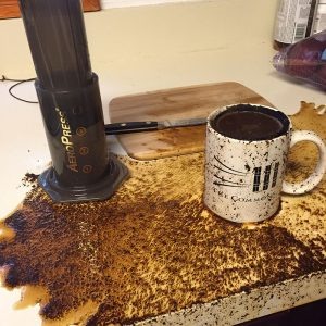 easy to clean aeropress