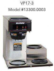 BUNN VP17-3 13300.0003