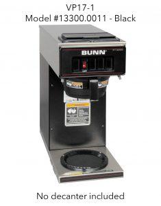 BUNN VP17-1 Model #13300.0011