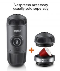 nespresso accessory sold separately