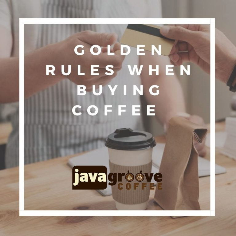 Rules when Buying Coffee