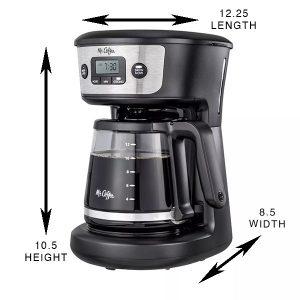 mr coffee target budget coffee maker